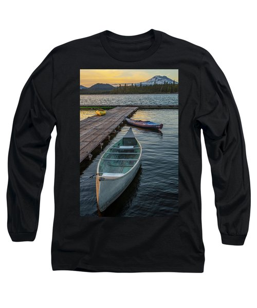 Variation On A Theme At Lava Lake Long Sleeve T-Shirt