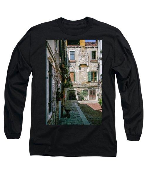 Venetian Back Street Long Sleeve T-Shirt