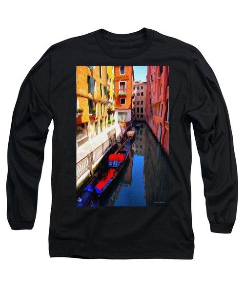 Venetian Canal Long Sleeve T-Shirt