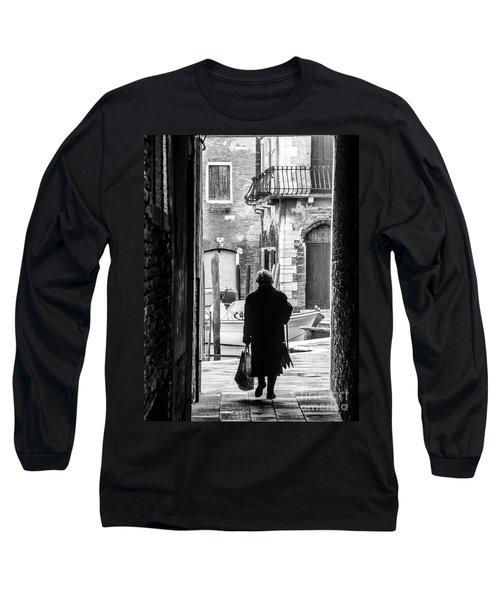Venetian Silhoutte Lady Long Sleeve T-Shirt