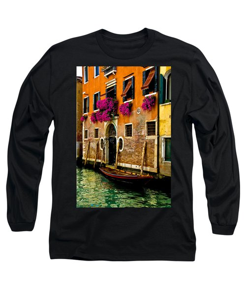 Venice Facade Long Sleeve T-Shirt by Harry Spitz