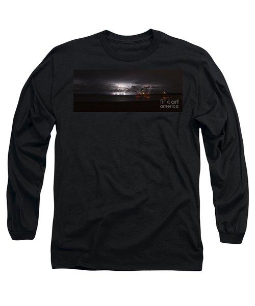 Venice Fishing Pier Long Sleeve T-Shirt