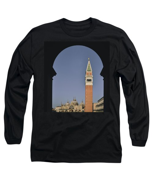 Venice In A Frame Long Sleeve T-Shirt