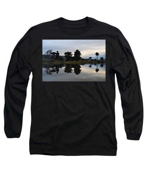 Long Sleeve T-Shirt featuring the photograph Ventura California Coast Estuary by Kyle Hanson