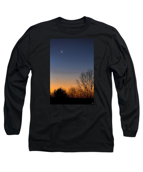 Venus, Mercury And The Moon Long Sleeve T-Shirt