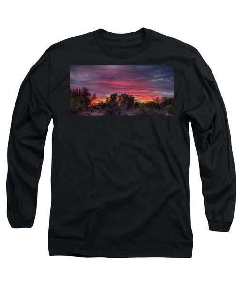 Verigated Sky Long Sleeve T-Shirt