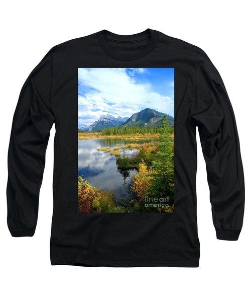 Vermillion Kaleidoscope  Long Sleeve T-Shirt
