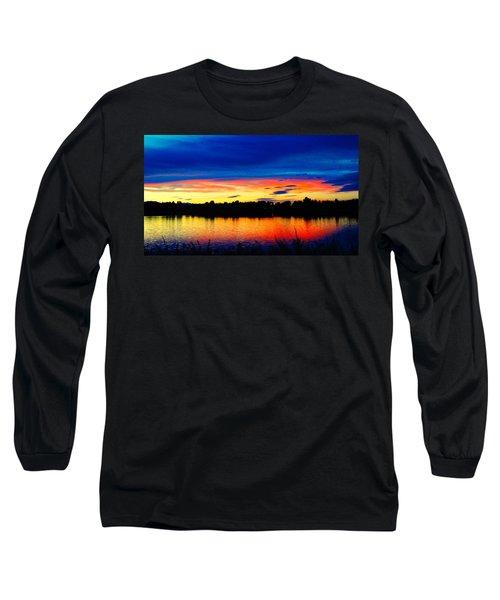 Vermillion Sunset Long Sleeve T-Shirt