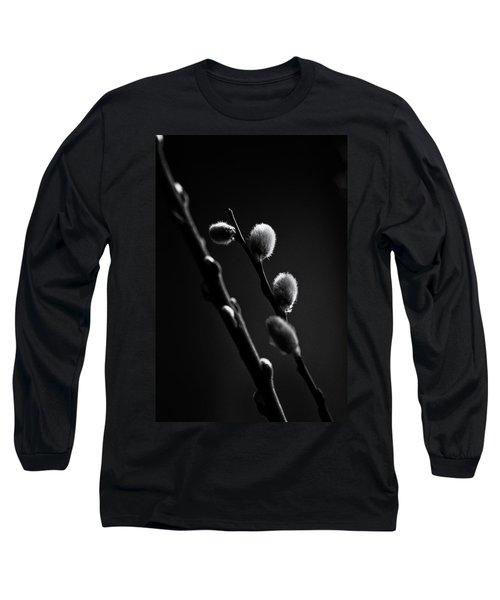 Vernal Awakening Long Sleeve T-Shirt by Susan Capuano