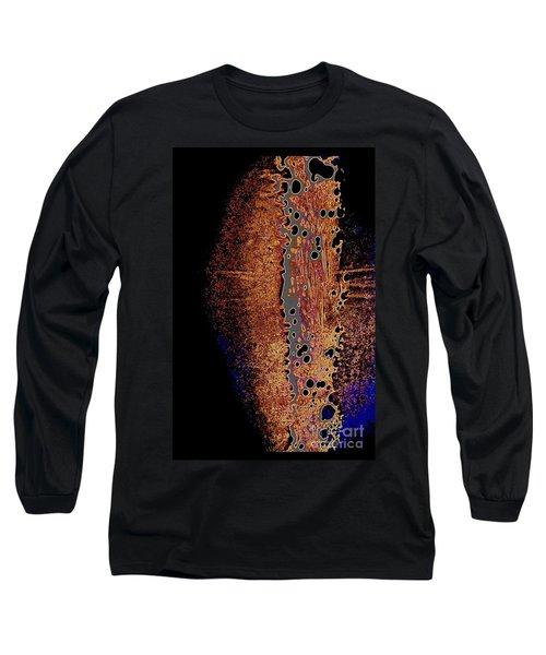 Vertical Abstract Long Sleeve T-Shirt