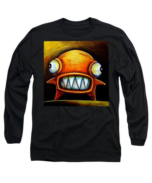 Very Scarey Glob Long Sleeve T-Shirt