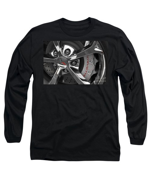 Vette Wheel Long Sleeve T-Shirt