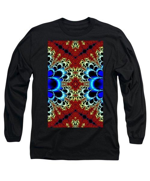 Vibrancy Fractal Cell Phone Case Long Sleeve T-Shirt