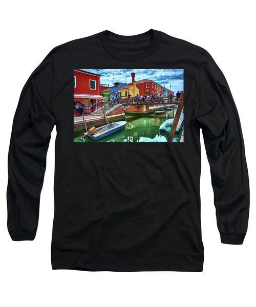 Vibrant Dreams Floating In The Air Long Sleeve T-Shirt