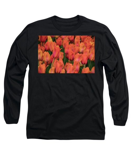 Vibrant Whispers Long Sleeve T-Shirt