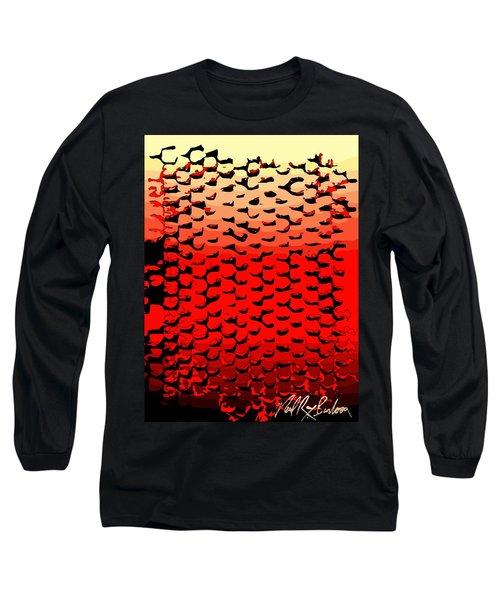 Vibrational Bricks Long Sleeve T-Shirt