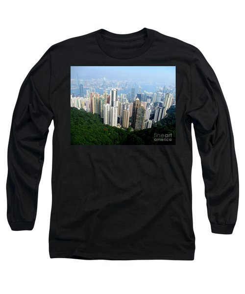 Long Sleeve T-Shirt featuring the photograph Victoria Peak 1 by Randall Weidner