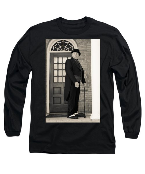 Victorian Dandy Long Sleeve T-Shirt by Fran Riley
