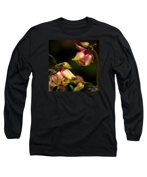 Victorian Romance Long Sleeve T-Shirt by Linda Shafer