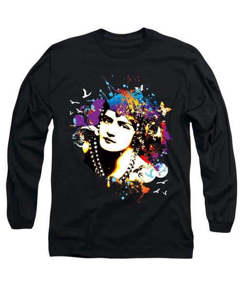 Victorian Temptation - Bespattered Long Sleeve T-Shirt