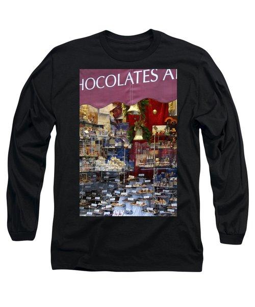 Vienna Chocolatier Shop Long Sleeve T-Shirt