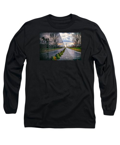 Vietnam War Memorial, Washington, Dc, Usa Long Sleeve T-Shirt