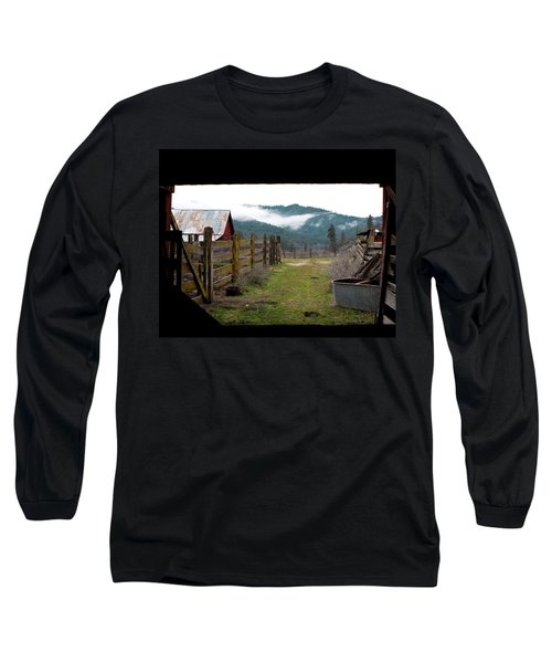 View From A Barn Long Sleeve T-Shirt