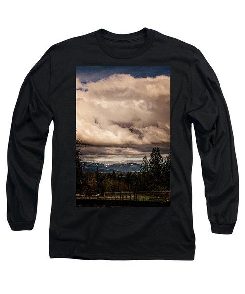 View From Flicka Farm Long Sleeve T-Shirt