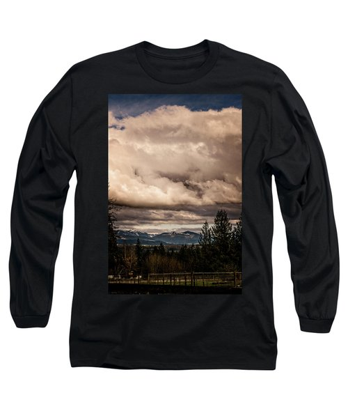 View From Flicka Farm Long Sleeve T-Shirt