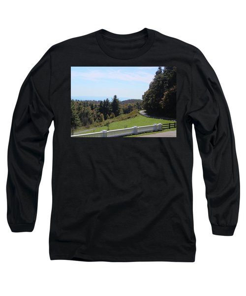 View From Moses Cone 2014a Long Sleeve T-Shirt