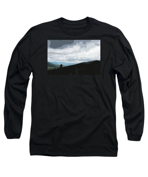 View From Mount Washington II Long Sleeve T-Shirt by Suzanne Gaff