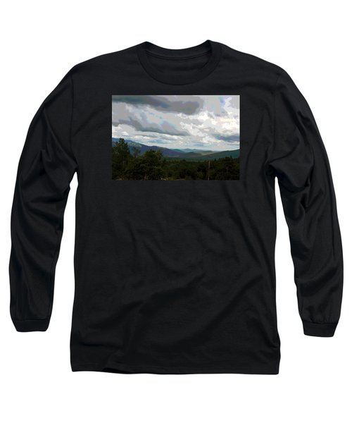View From Mount Washington IIi Long Sleeve T-Shirt by Suzanne Gaff