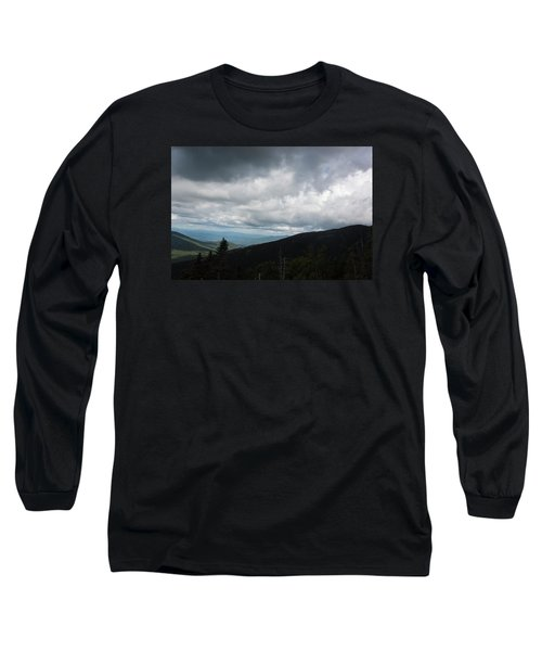 View From Mount Washington  Long Sleeve T-Shirt by Suzanne Gaff