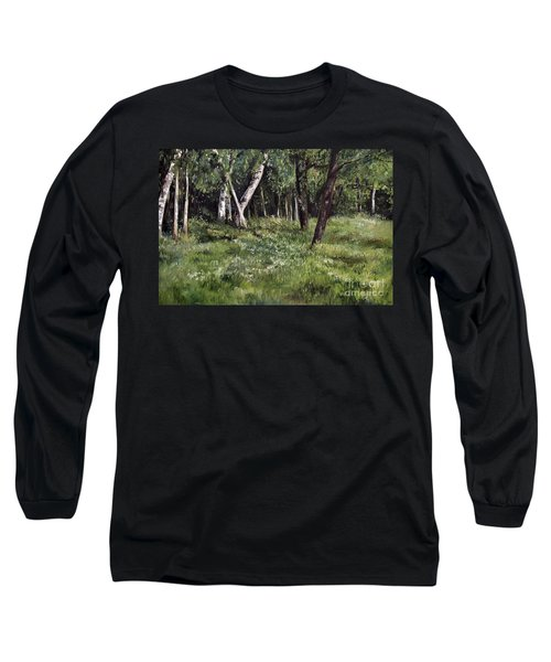 View From My Studio Long Sleeve T-Shirt by Laurie Rohner