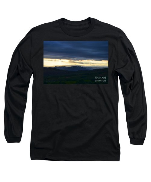 View From Palomar 9633 Long Sleeve T-Shirt by Sharon Soberon