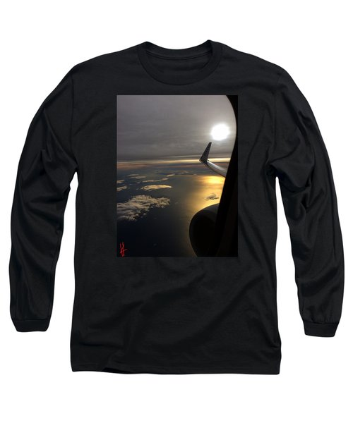 Long Sleeve T-Shirt featuring the photograph View From Plane  by Colette V Hera Guggenheim