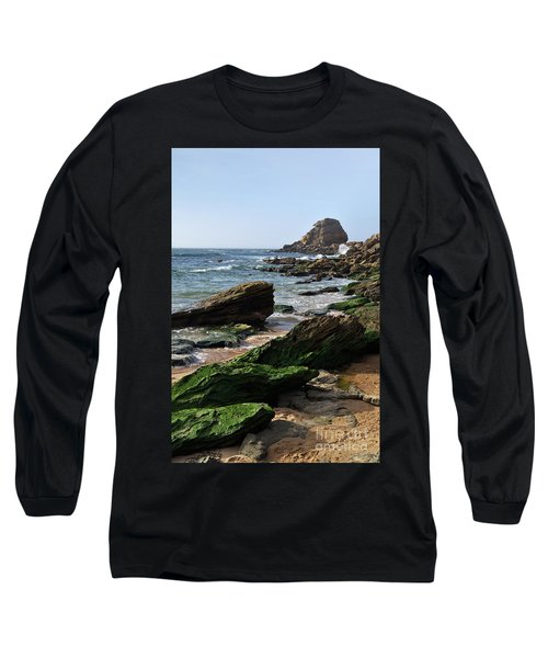 View Of Santa Rita Beach In Torres Vedras Long Sleeve T-Shirt