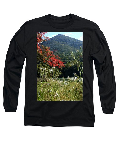 Long Sleeve T-Shirt featuring the photograph View Of Sharp Top In Autumn by Emanuel Tanjala