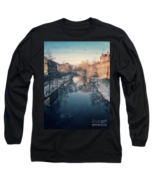 View Onto The River  Long Sleeve T-Shirt