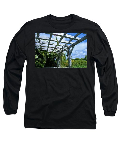 View To The Sky Long Sleeve T-Shirt by Lois Lepisto