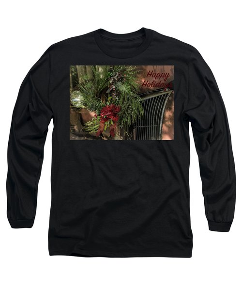 Vintage 40 Ford Truck Christmas Long Sleeve T-Shirt