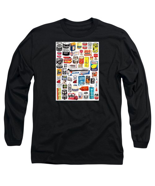 Vintage American Brands Long Sleeve T-Shirt