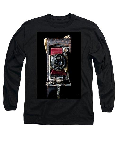 Vintage Bellows Camera Long Sleeve T-Shirt