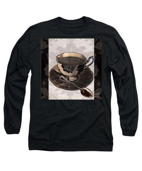 Vintage Cafe Iv Long Sleeve T-Shirt