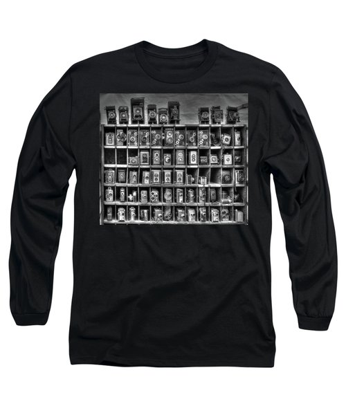 Vintage Camera Matrix Long Sleeve T-Shirt