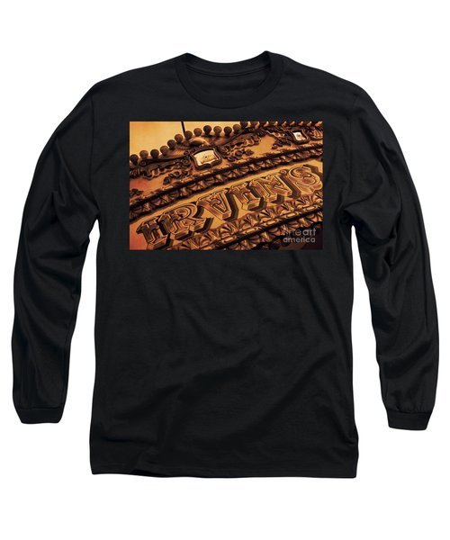 Vintage Fairground Carousel Long Sleeve T-Shirt