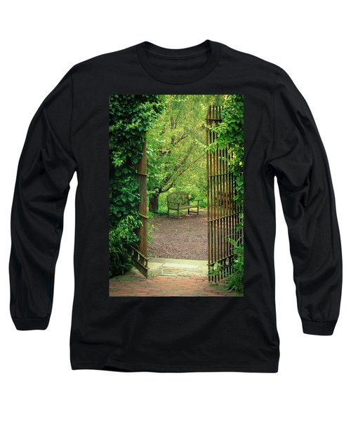 Vintage Garden Long Sleeve T-Shirt