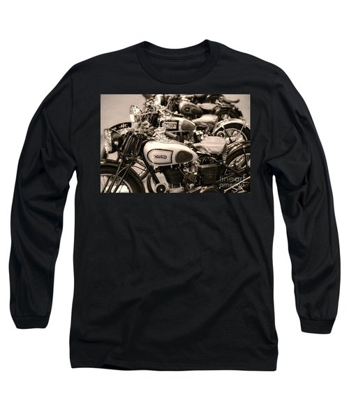 Vintage Motorcycles Long Sleeve T-Shirt