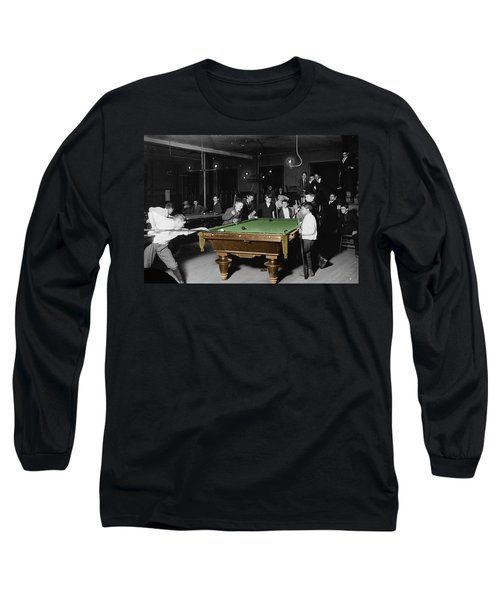 Vintage Pool Hall Long Sleeve T-Shirt