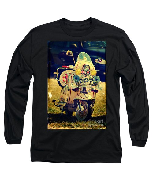 Vintage Scooter Long Sleeve T-Shirt
